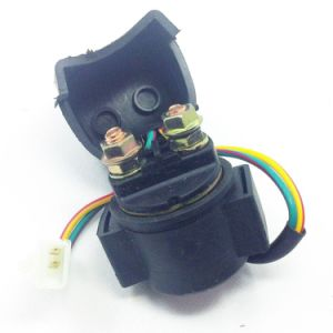 Solenoid Switch /Starter Relay for Scooter with Gy6 150cc pictures & photos