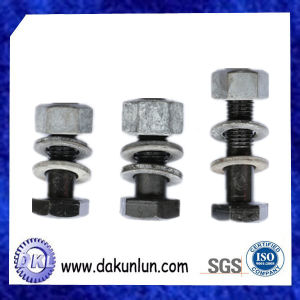 Factory Customized Carbon Steel Black Stud/Bolt and Nut
