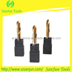 High Precision Tungsten Steel Solid Carbide Drill Bits with Naco Coating