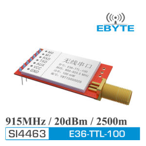 Ebyte E36-Ttl-100 2200m 20dBm (100MW) Si4463/Si4432 900MHz 915MHz RF  Transmitter and Receiver Module
