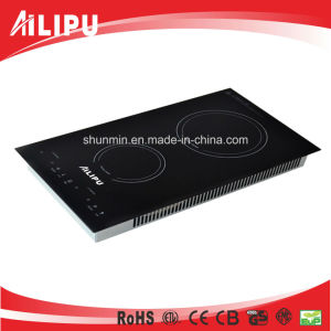 3300W Built-in Double Burners Induction Cooktop Model Sm-Dic30 pictures & photos