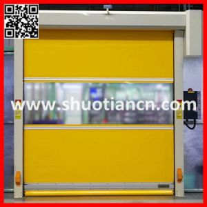 Rapid Fabric Roll Shutter High Speed Door (ST-001) pictures & photos