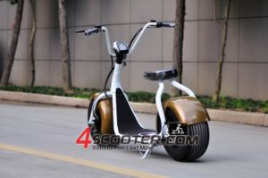2016 Fashion New Design Two Wheel Electric Scooter City Coco pictures & photos