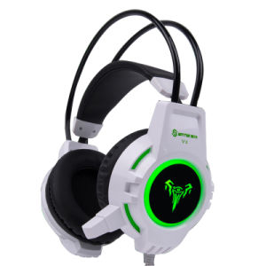 Ce RoHS Certificate Wired Game Computer Headset with LED (K-V2)