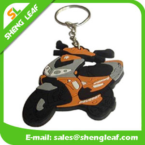 New Customized Soft Rubber 3D Promotional Key Chain (SLF-KC014)