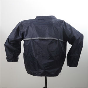 Durable Coating Raincoat with Hood pictures & photos