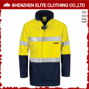 Wholesale Winter Men Reflective Safety Work Jacket pictures & photos
