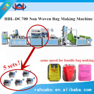 Ultrasonic Nonwoven-Fabric Carry Bag Making Machine pictures & photos