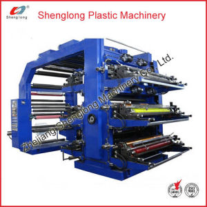 Automatic Label Flexographic Flexo Printing Machine/ Printer (WS806-1000ZS) pictures & photos