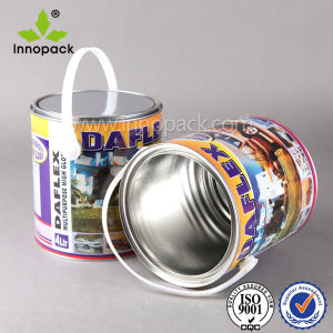 5L Custom Printing Mini Metal Bucket with Lid and Handle pictures & photos