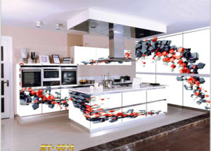 Island Style for Project China 3D Kitchen Cabinet