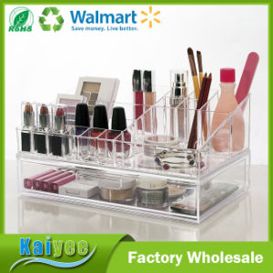 Premium Quality Cosmetic Storage and Makeup Palette Organizer with 1 Drawer pictures & photos