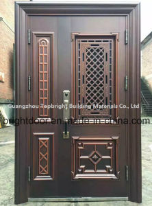 Price of Exterior Stainless Steel Main Door Design pictures & photos