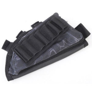 Anbison-Sports Tactical Rifle Butt Stock Cheek Rest Shell Ammo Holder pictures & photos