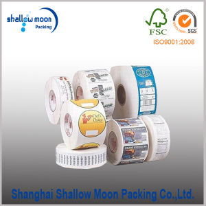 Customized Full Color Paper/Vinyl Label Sticker Printing (QYCI15152)