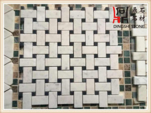 Natural White Marble Slabs Guangxi White Marble Mosaic for Wall Tile and Flooring