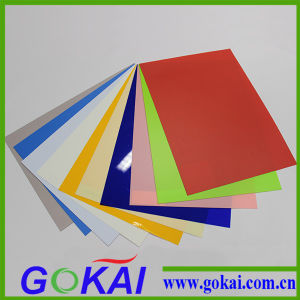 Colorful Opaque Matt Rigid PVC Sheets for Display pictures & photos