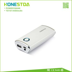 4400mAh Mobile Power Bank Travel Charger with LED Flashlight