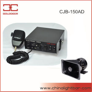 150W Car Electronic Siren Series with Microphone (CJB-150AD) pictures & photos