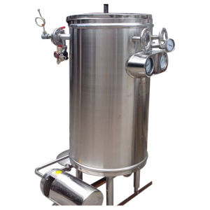 Food Sanitary Coil Type 500L/H Htst Milk Sterilizer pictures & photos