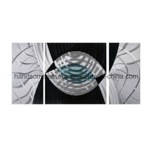 Abstrct Art Home Decoration, 3D Effect Handmade Metal Wall Art (CHB6012038) pictures & photos