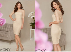 Ladies Sexy Slim Short Paragraph Evening Dress, Party Dress Tailored