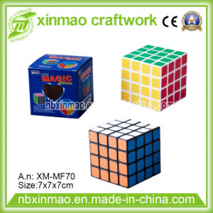7cm Four Layers Puzzle Cube with Base Color