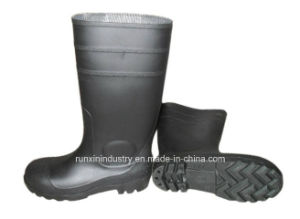 Safety PVC Rain Boots with Steel Toe 106bb pictures & photos