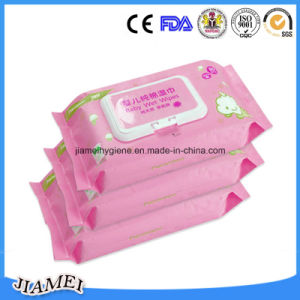 China Alcohol Free Aloe Baby Wipes Factory pictures & photos