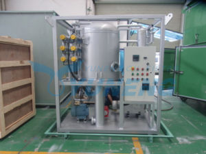 Yuneng Brand Single Stage Oil Filtration Equipment with Trailer pictures & photos