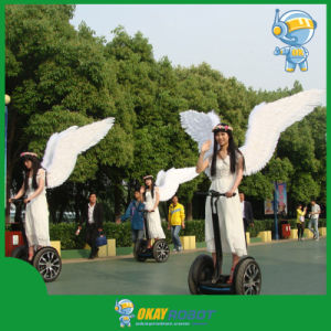 2015 New Design Two Wheel Electric Scooter with Brushless Motor