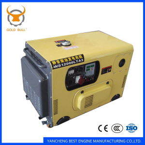 8kw Air-Cooled Power Silent Diesel Generator for Industrial Use
