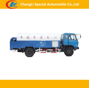 Dongfeng 4*2 3cbm Mini Vacuum Sweeper Truck pictures & photos