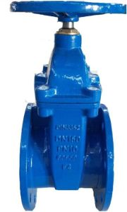 DIN F4 Rubber Wedge Gate Valve pictures & photos