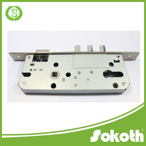 Interior Door Security Lock Mortise Lock Body Key Lock, Three Round Bolt Lock pictures & photos