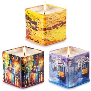 Candle Tins Tin Candle Box pictures & photos