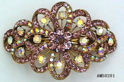 Costume Jewelry - Hair Clip (AM50281)