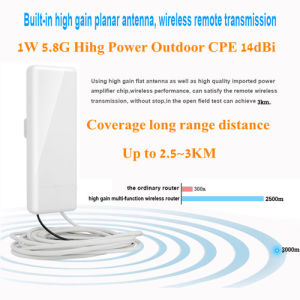 High Power Wireless Router 5 8G Outdoor CPE IP65 Water Proof 300Mbps  Wireless Access Point Long Range WiFi Router