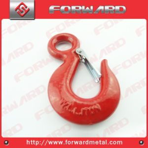 Alloy Steel S320 Eye Hoist Hooks with Safety Latch pictures & photos