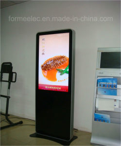 46 Inch Floor Stand Media Player Advertising Machine 500nits pictures & photos