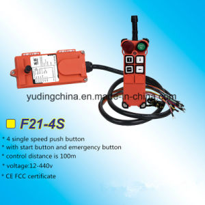 F21-4s Crane Heavy Duty Radio Remote Control / Wireless Remote Controls pictures & photos