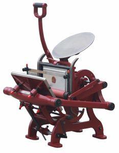 Manual Letterpress Machine Printing