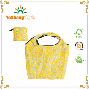 Nylon Foldable Reusable Shopping Bag, Polyester Pattern Folding Bag, Printed Folding Bag pictures & photos