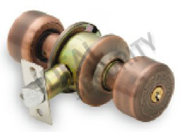 Cylindrical Tubular Knob Door Lock (WS581AC-ET) pictures & photos