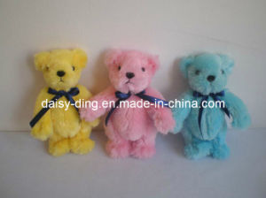 Plush Colorful Teddy Bear with Bowtie pictures & photos