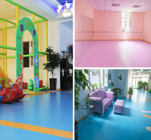Plastic Flooring, Commercial PVC Roll Flooring pictures & photos