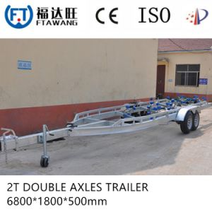 Galvanizing Jetski Trailer Speed Boat Trailer with LED Tail Light pictures & photos