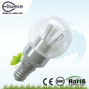 Low Price E14 SMD 3W LED Dimmable Lamp Bulb (ELM-A40-S3W-ML1)