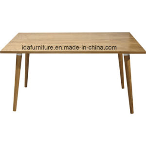Modern Commerical Dining Furniture Wood Dining Table