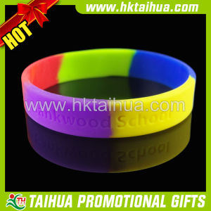 New Promo Silicone Bracelets Gift (TH-band053)